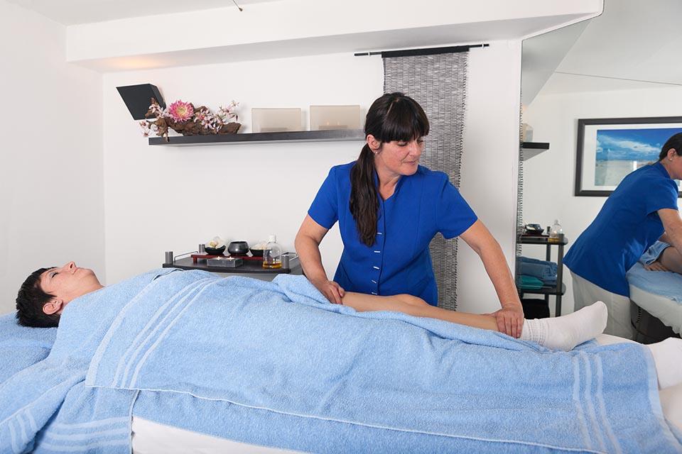 Been massage bij Van Iersel Wellness&Beauty Oosterhout